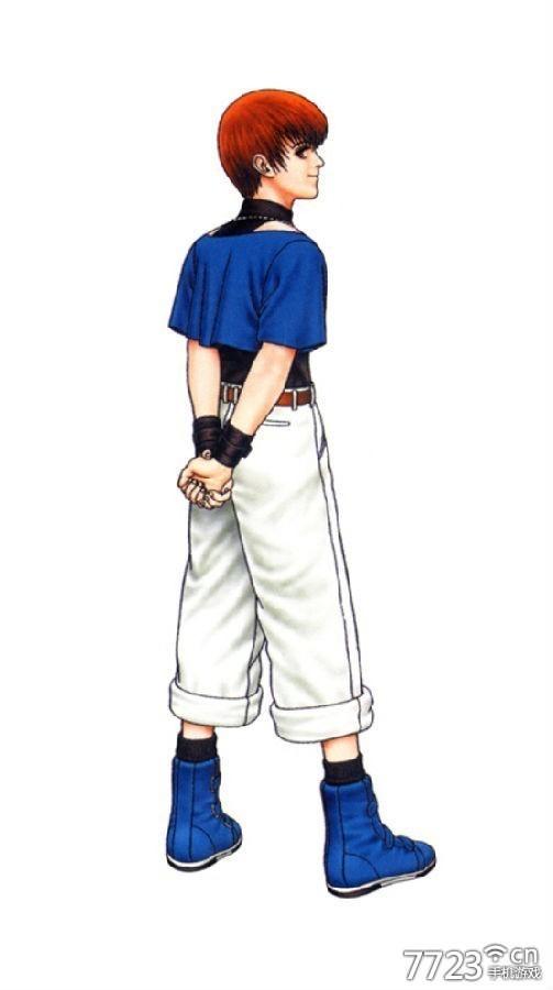 """"""" 克里斯初登场于《拳皇97》,是大蛇""""八杰集""""最年轻的成员."""