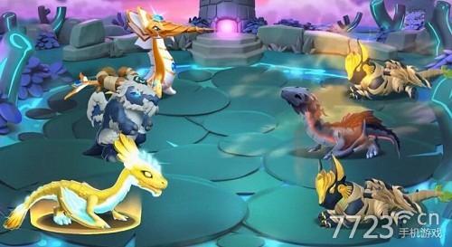 游戏的故事发生在龙之岛,因为贪婪的维京人携他们的龙入侵岛屿,导致
