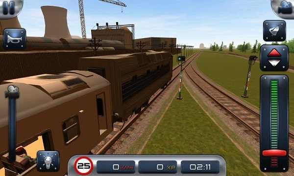 是一款模拟火车驾驶游戏,玩腻了汽车飞机,你想独自操作一辆巨型列车吗