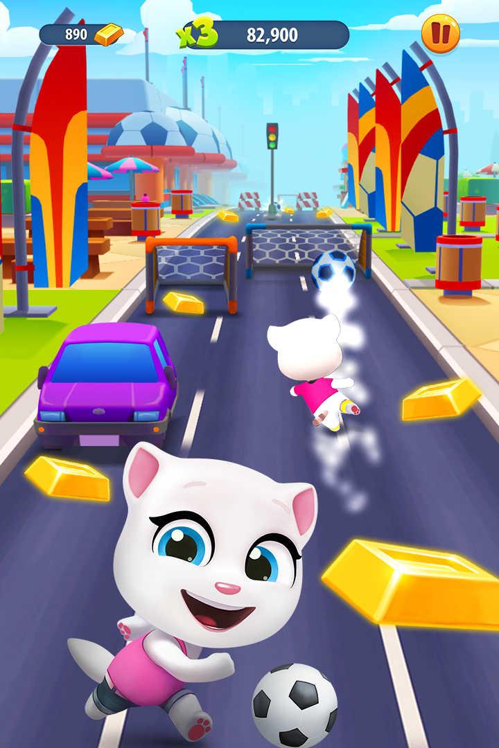 汤姆猫跑酷_安卓手机游戏免费版下载_7723手机游戏
