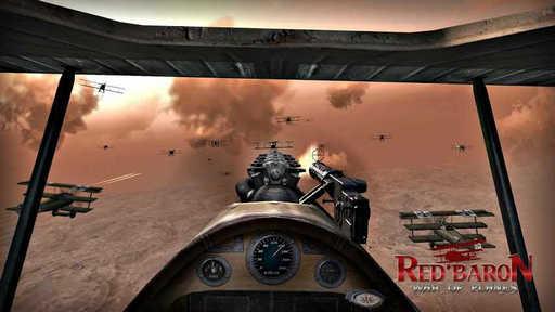 红色男爵:飞机战争破解版(解锁关卡)带数据包