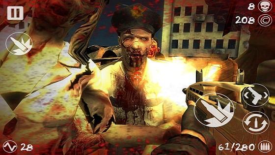 《丧尸战场修改版》是一款恐怖射击游戏,在这款动作感十足的横向卷轴