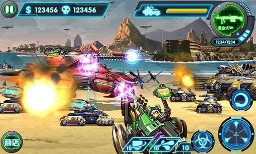 《3D坦克大战-合金弹头》一款全新3D坦克大战游戏重磅来袭!《3D坦克大战-合金弹头破解》有华丽的3D场景,超炫的游戏特效让你体验真实的战场风云!飞机轰鸣,坦克咆哮,点燃你心中血与火的激情! 游戏介绍:华丽的3D场景,酷炫的粒子特效,真实还原战争的壮烈!飞机轰鸣,坦克咆哮,血与火中体验钢与铁的较量!简单,粗暴,刺激,真汉子必玩!