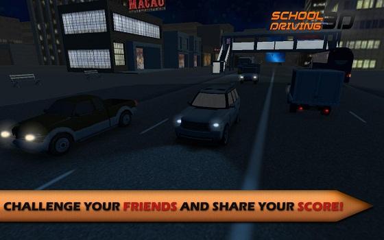 《3d驾驶学校 school driving 3d》一个令人兴奋的游戏你可...