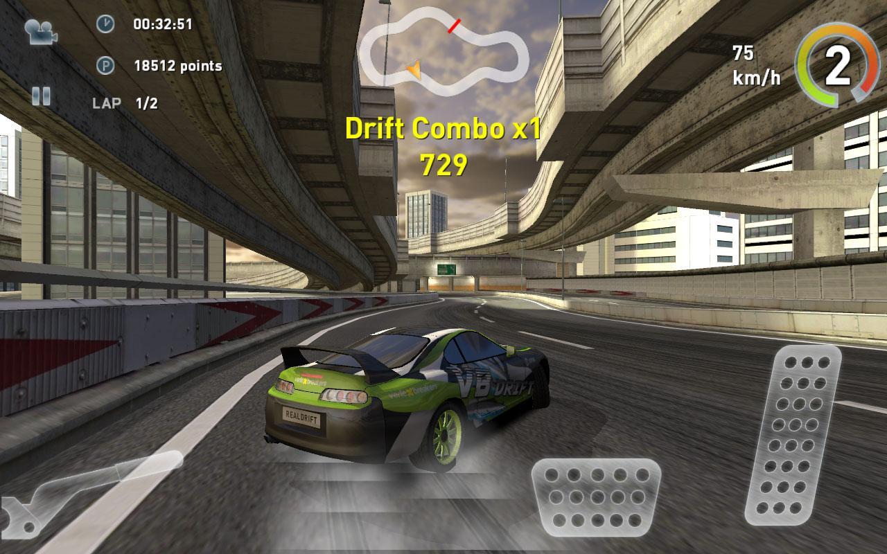 真实赛车漂移修改版 无限金币 带数据包 v3.1