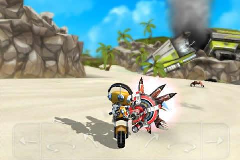 一个负责维修的机器人驾驶飞船坠落在一个名为electopia的热带岛屿上